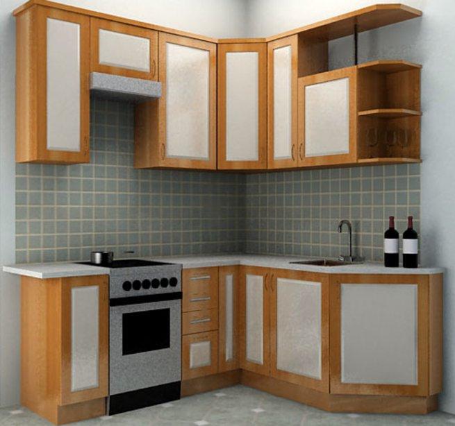 Мебель для маленьких кухонь фото