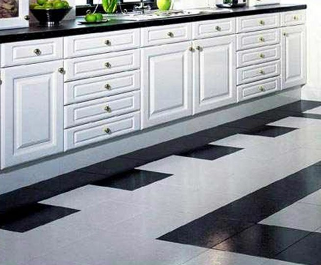 Дизайн полов кухни