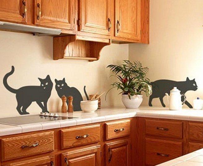 кухне руками своими стене на декор в