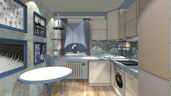 Дизайн кухни диваном фото