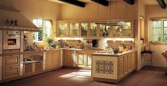 Кухня в стиле кантри картинка кухня в