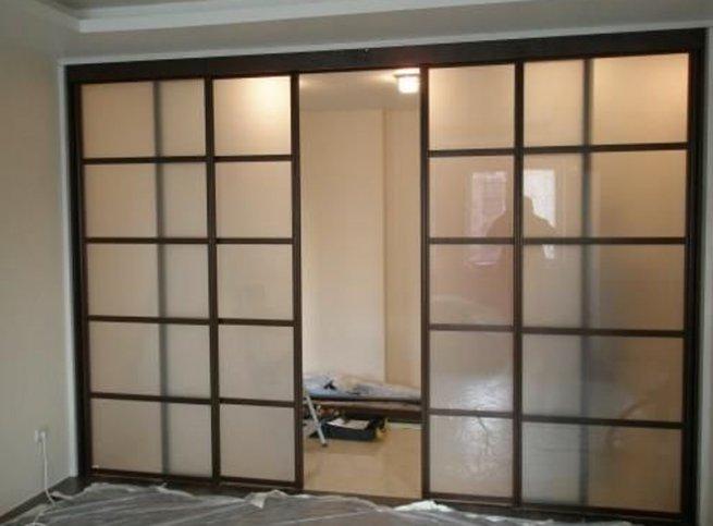 Раздвижные двери на кухню