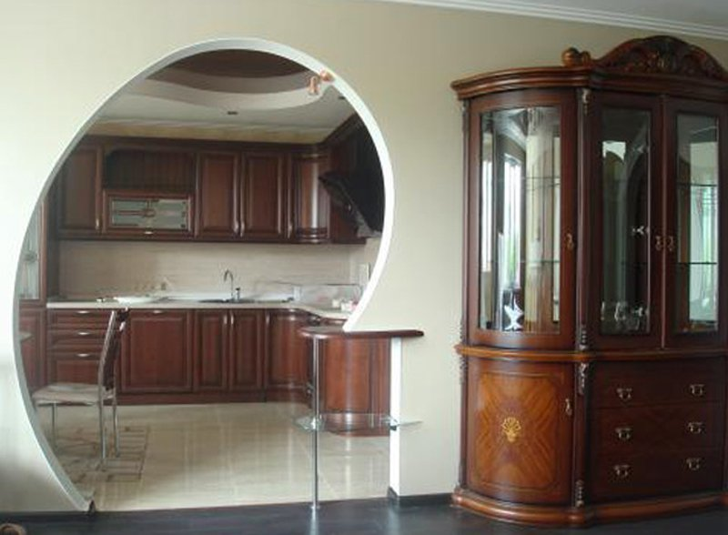 арки фото на кухне
