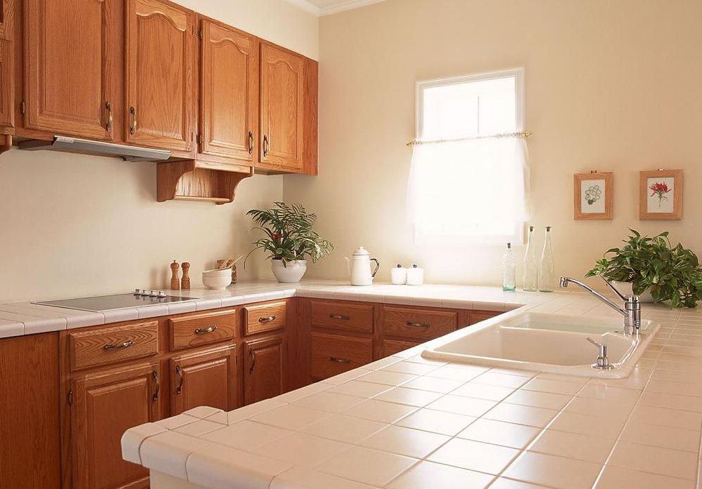 Фото дизайна обоев на кухню