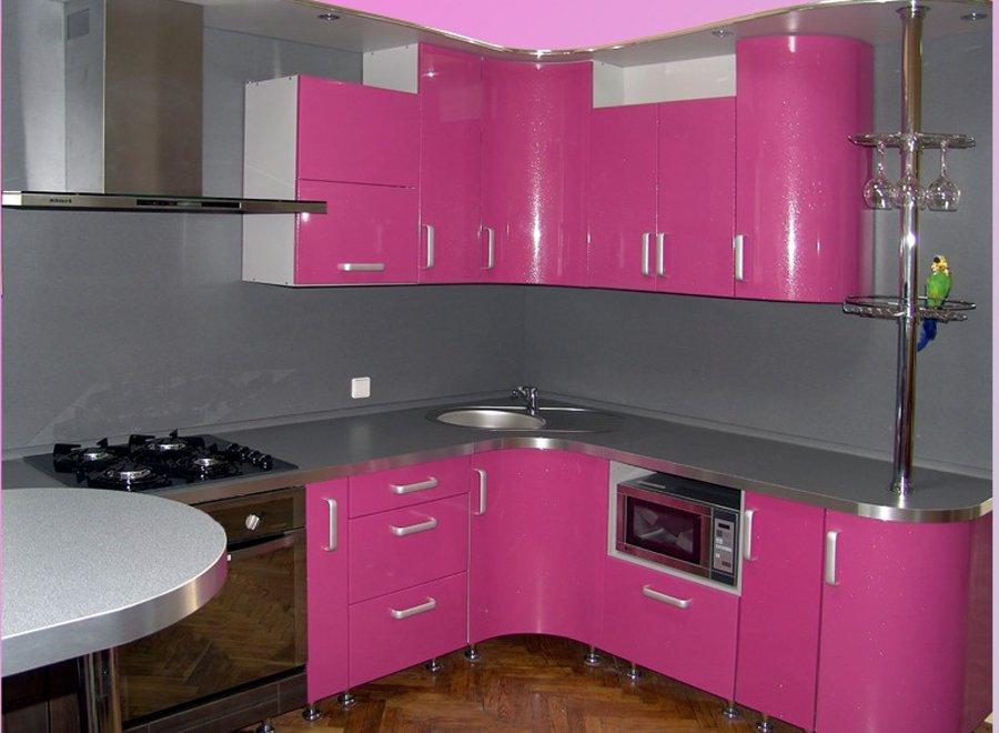 Кухня с подсветкой фото дизайн
