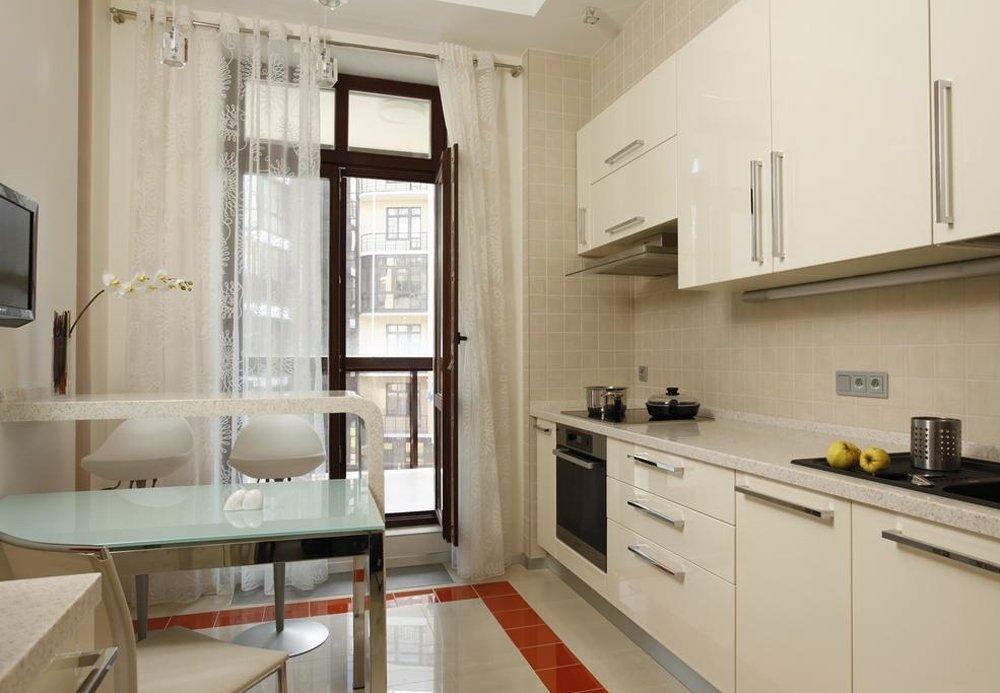 Кухня 10м2 дизайн фото