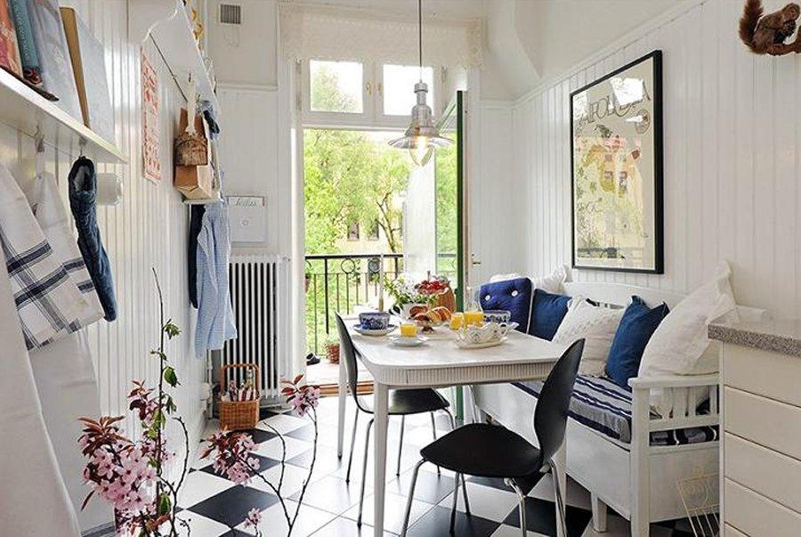 Дизайн интерьера кухни на балконе фото - интернет-журнал inh.