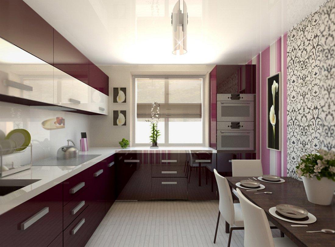 фото кухни 12 кв. м.