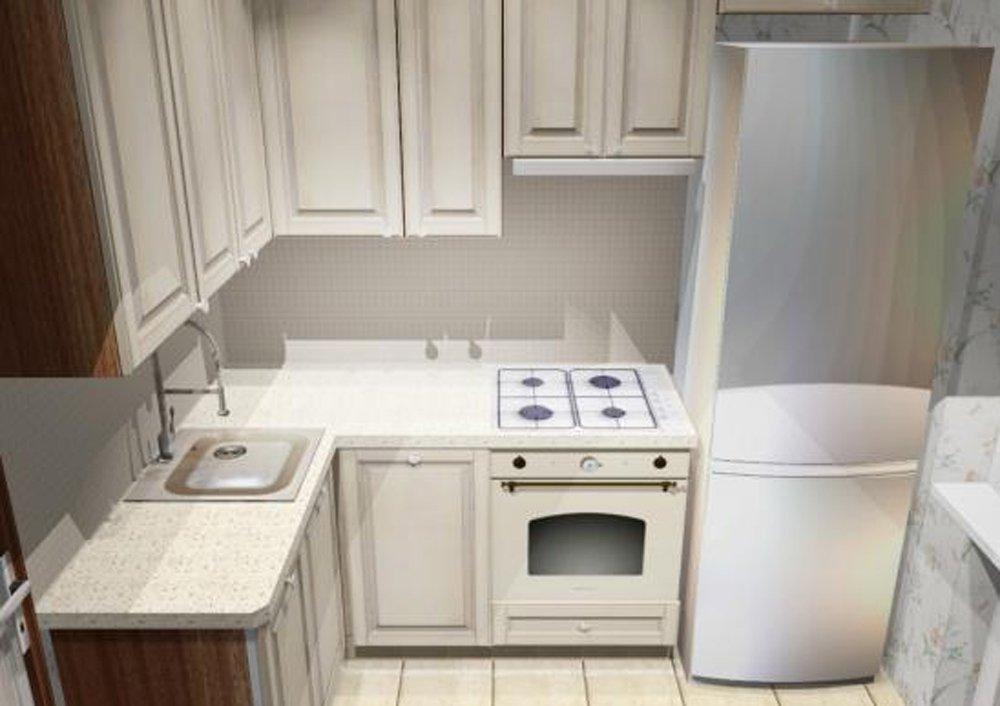 Интерьер кухня 16 кв м 42
