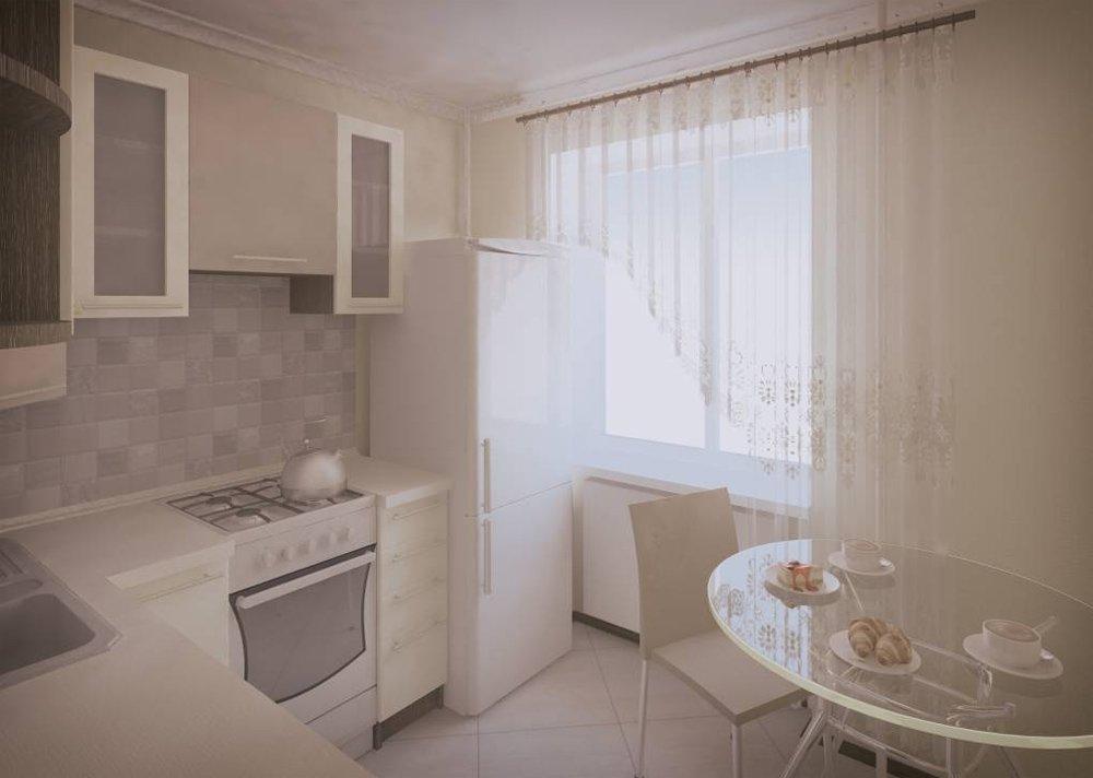 Ремонт кухни 6 кв м своими руками