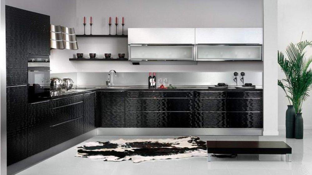 Белая кухня фото интерьер
