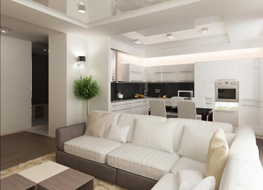 кухня гостиная 19 кв.м дизайн фото