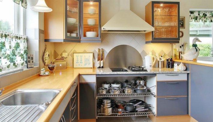 Правила оформления кухни