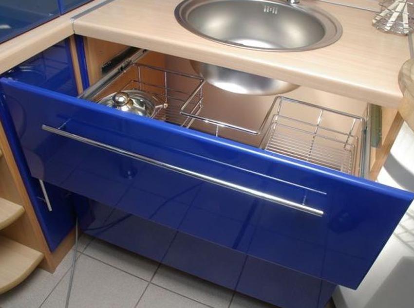 Тумба под мойку для кухни 366