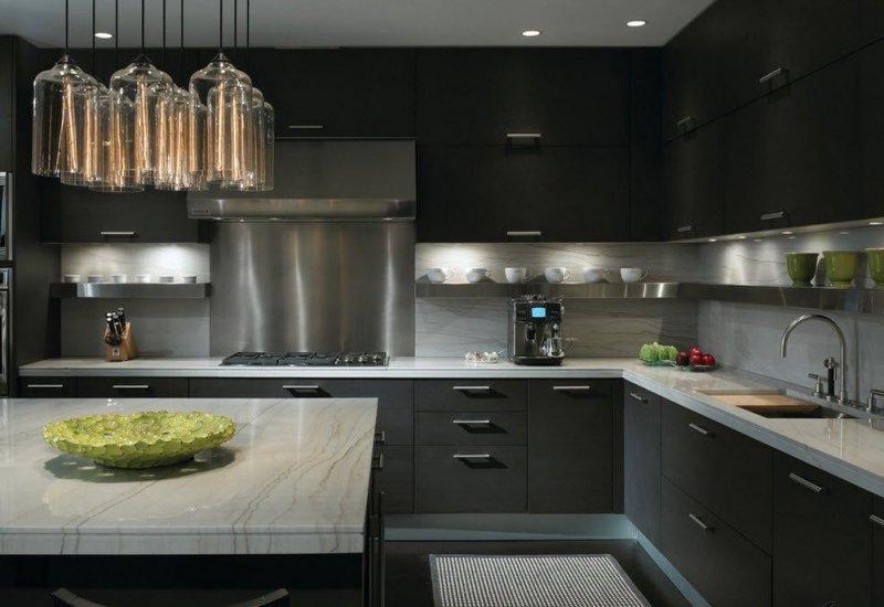 модный кухонный гарнитур фото