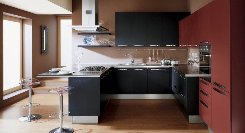 модный кухонный гарнитур