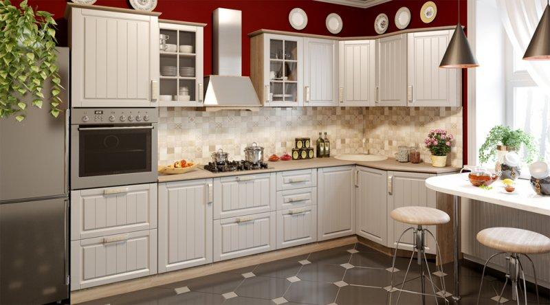 светлые тона в дизайне кухни
