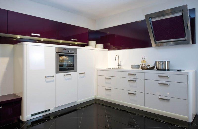 современный кухонный гарнитур